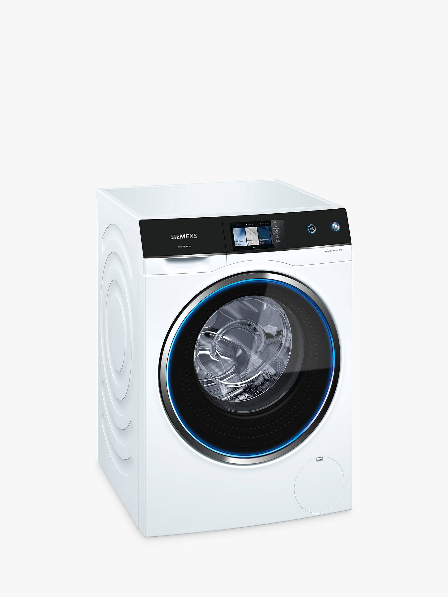 BuySiemens WM14U940GB Freestanding Washing Machine, 10kg Load, A+++ Energy Rating, 1400rpm Spin, White Online at johnlewis.com