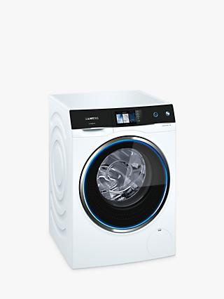 Siemens WM14U940GB Freestanding Washing Machine, 10kg Load, A+++ Energy Rating, 1400rpm Spin, White