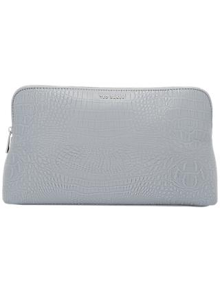 Ted Baker Tawny Croc Effect Wash Bag