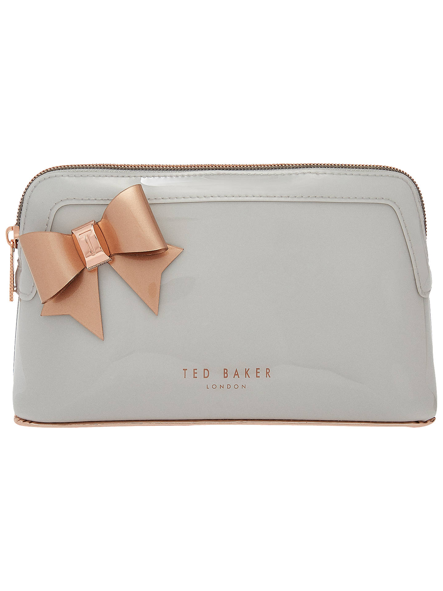 e1c13ceb6 Ted Baker Aubrie Bow Makeup Bag at John Lewis   Partners