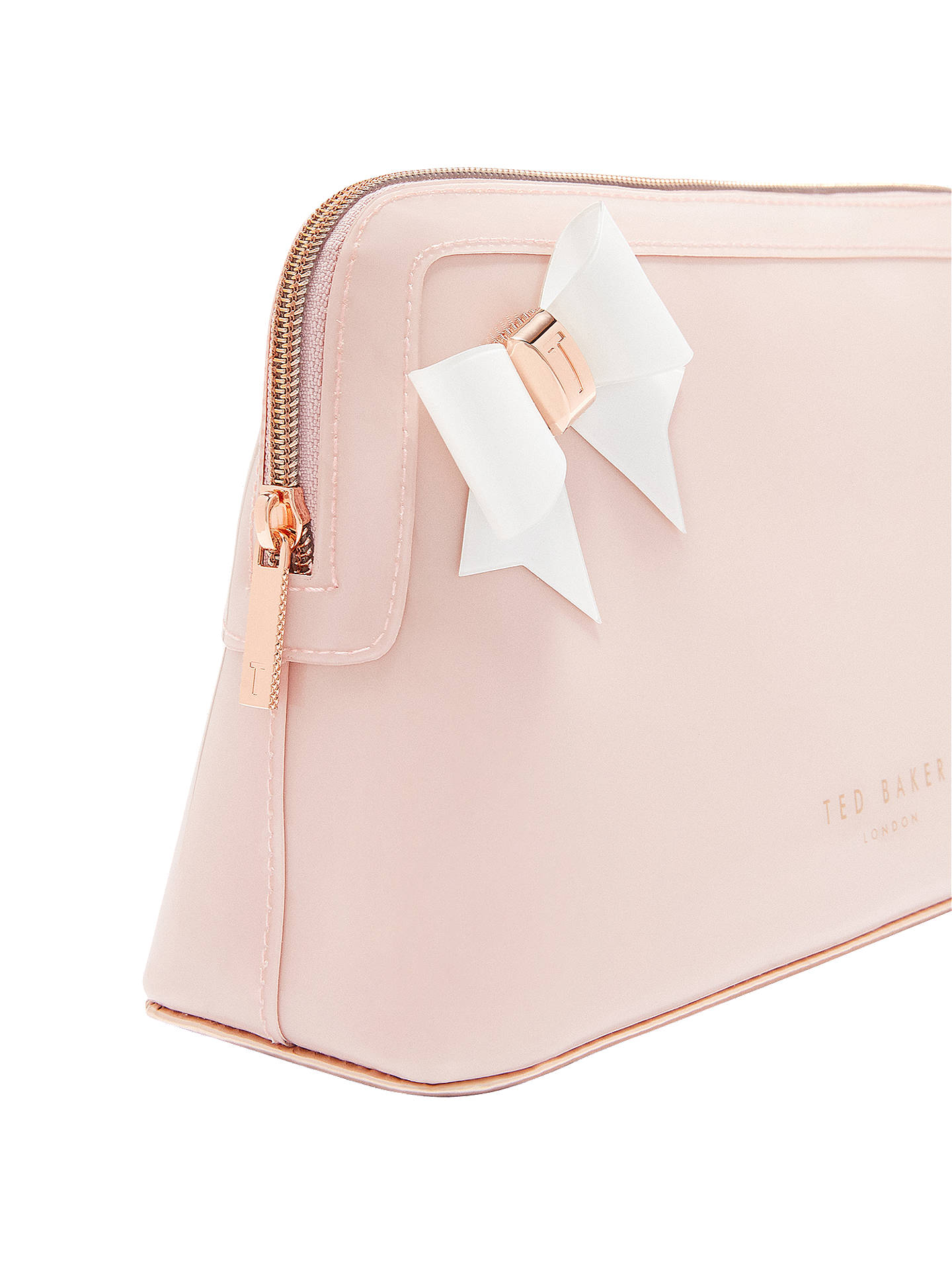 BuyTed Baker Alley Bow Wash Bag, Pink Online at johnlewis.com