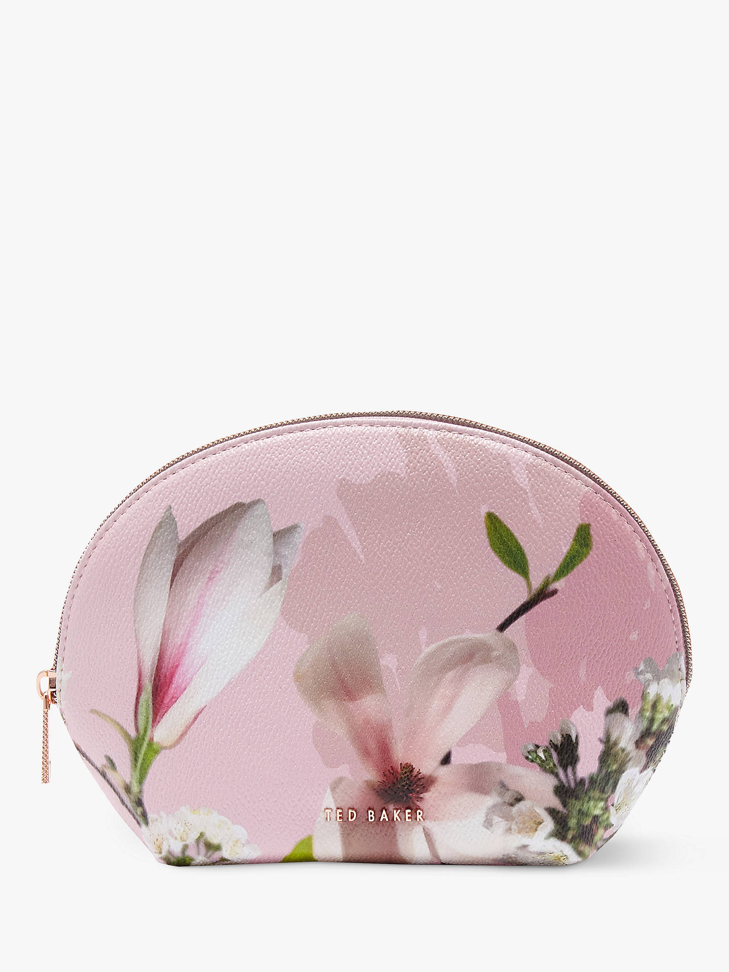 Buy Ted Baker Wash Bag, Pink Online at johnlewis.com