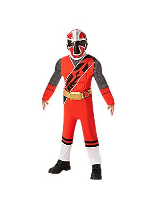 Power Ranger Red Children's Costume, 5-6 years