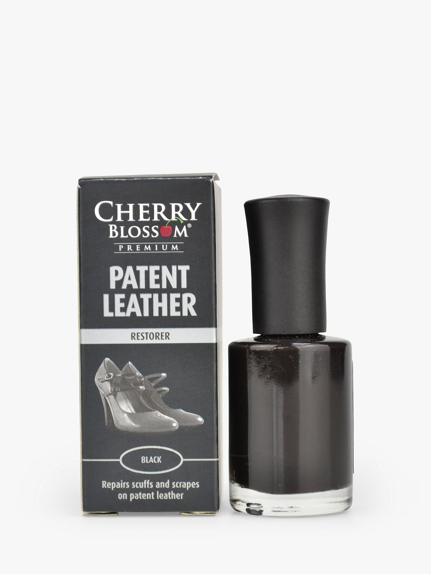 Buy Cherry Blossom Patent Leather Restorer, Black Online at johnlewis.com