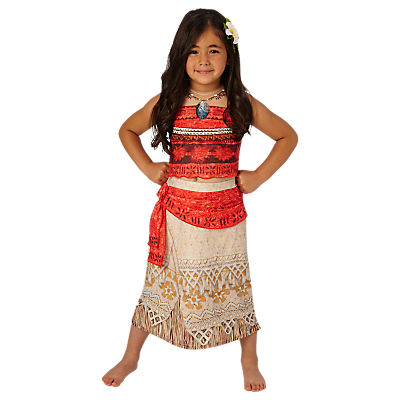 Image of Disney Princess Moana Children's Costume, 5-6 years