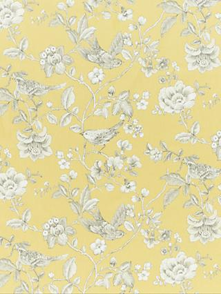 John Lewis & Partners Nightingales Furnishing Fabric, Yellow
