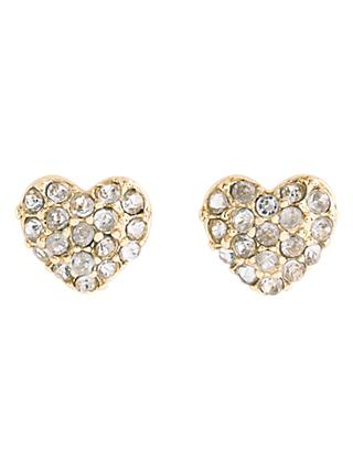 crewcuts by J.Crew Girls' Crystal Stud Earrings, Gold