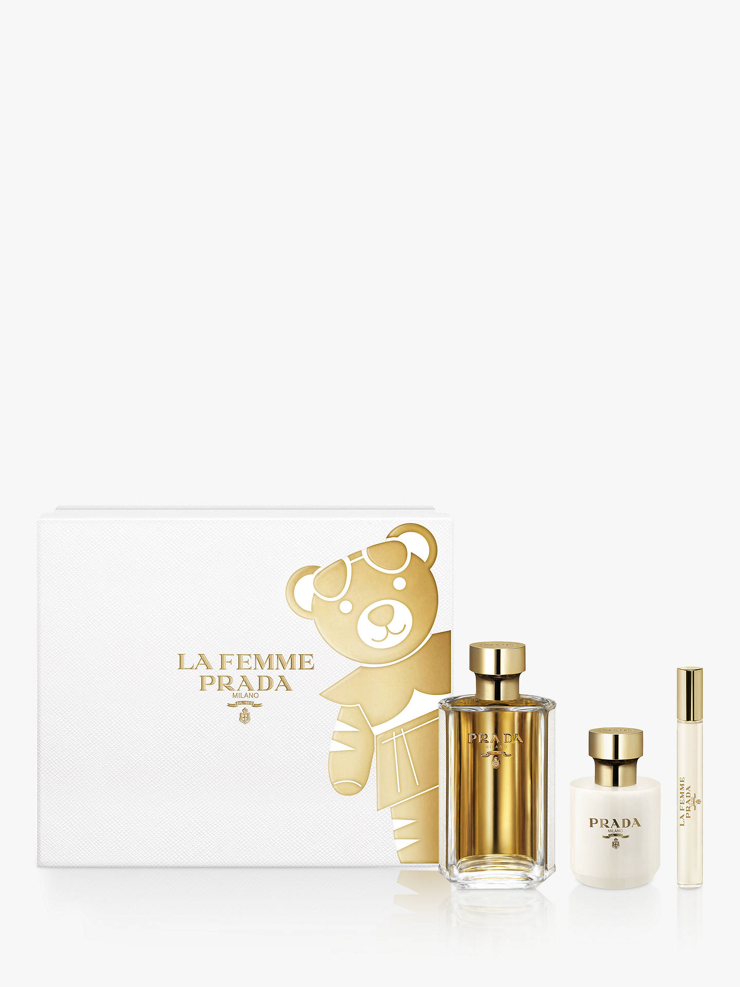 BuyPrada La Femme 100ml Eau de Parfum Fragrance Gift Set Online at johnlewis.com