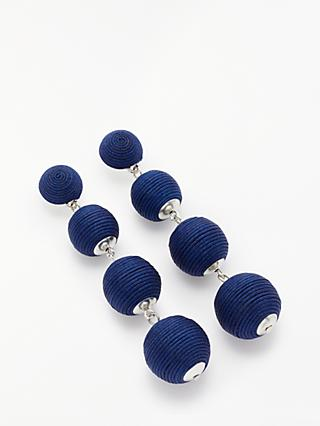 John Lewis & Partners Bubble Drop Earrings