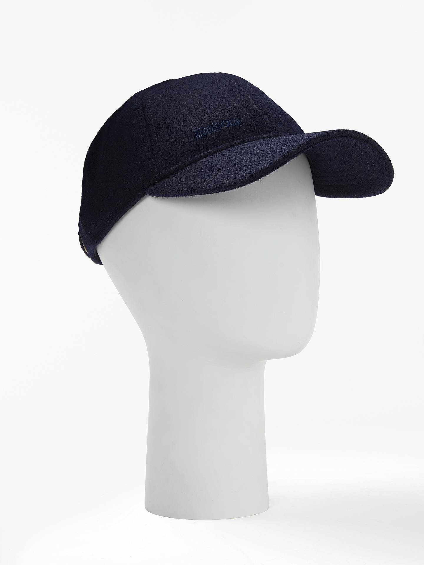 Buy Barbour Coopworth Baseball Cap, One Size, Navy Online at johnlewis.com