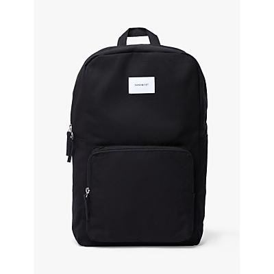 Sandqvist Kim Grand Backpack, Black
