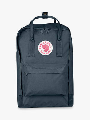 "Buy Fjällräven Kånken Classic 15"" Laptop Backpack, Graphite Online at johnlewis.com"