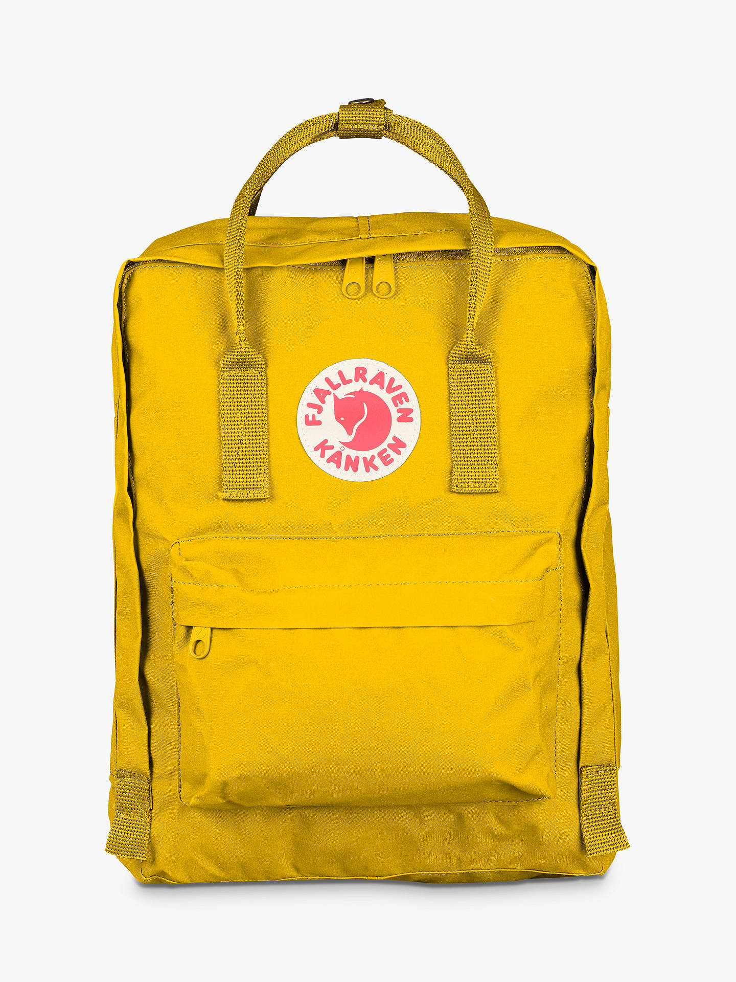 hot sale detailed pictures better Fjällräven Kanken Classic Backpack, Warm Yellow