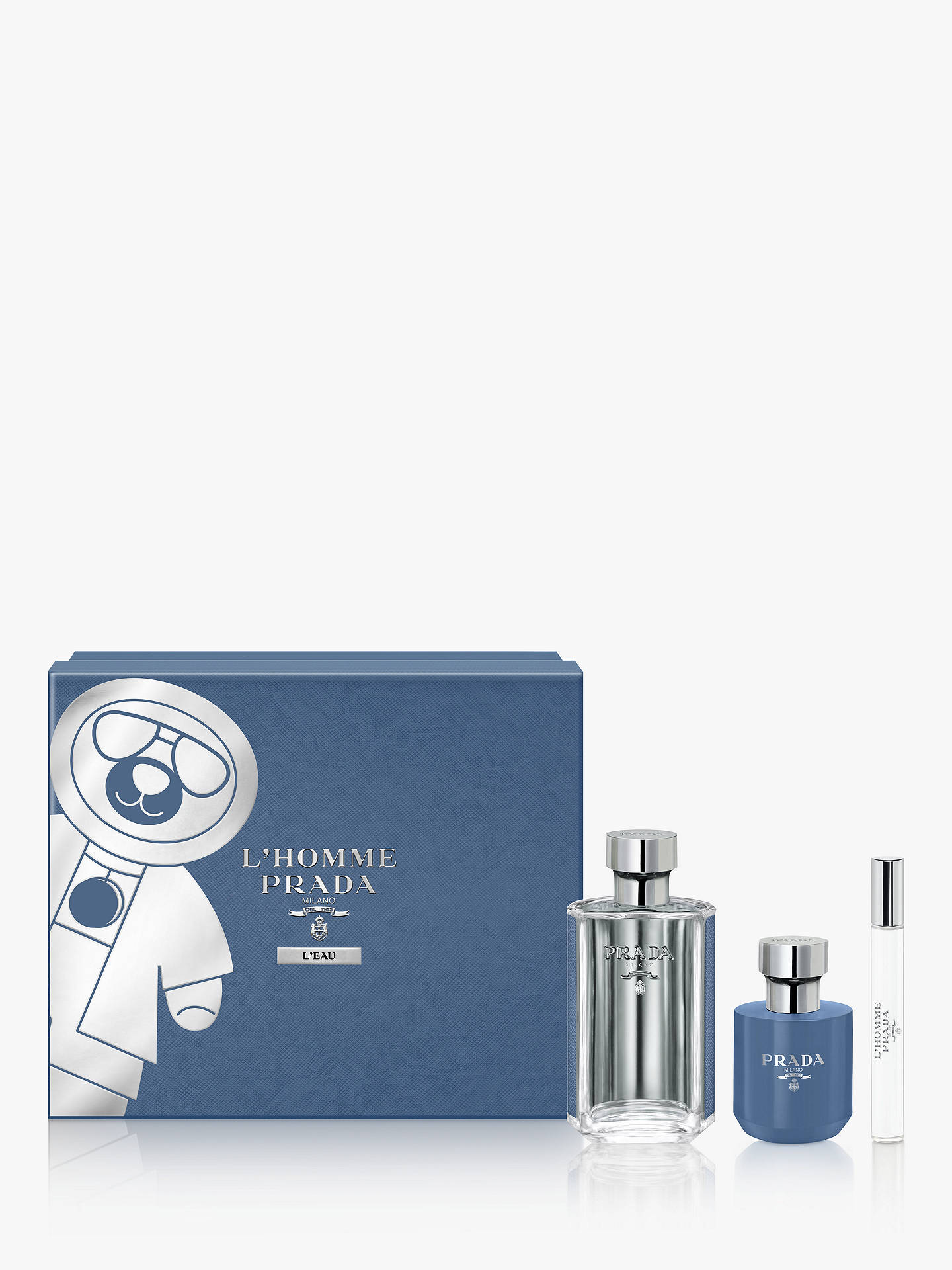 4e25bf8445 Prada L'Homme L'Eau 100ml Eau de Toilette Fragrance Gift Set at John ...