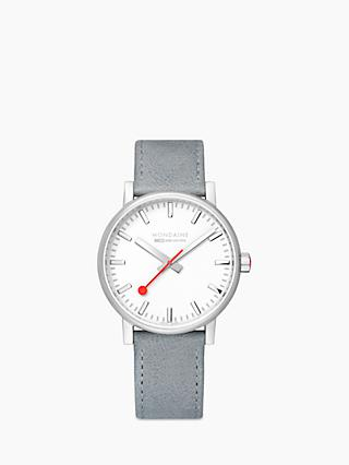 LH Unisex Evo 2 Date Leather Strap Watch 6cf156fe6b