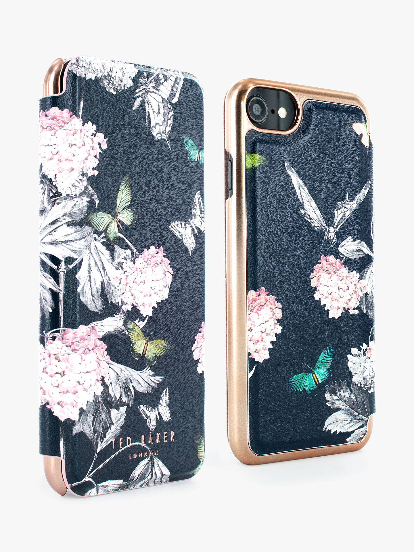 Buy Ted Baker Mirror Folio Moondance Case for iPhone 6/7 and 8 Online at johnlewis.com