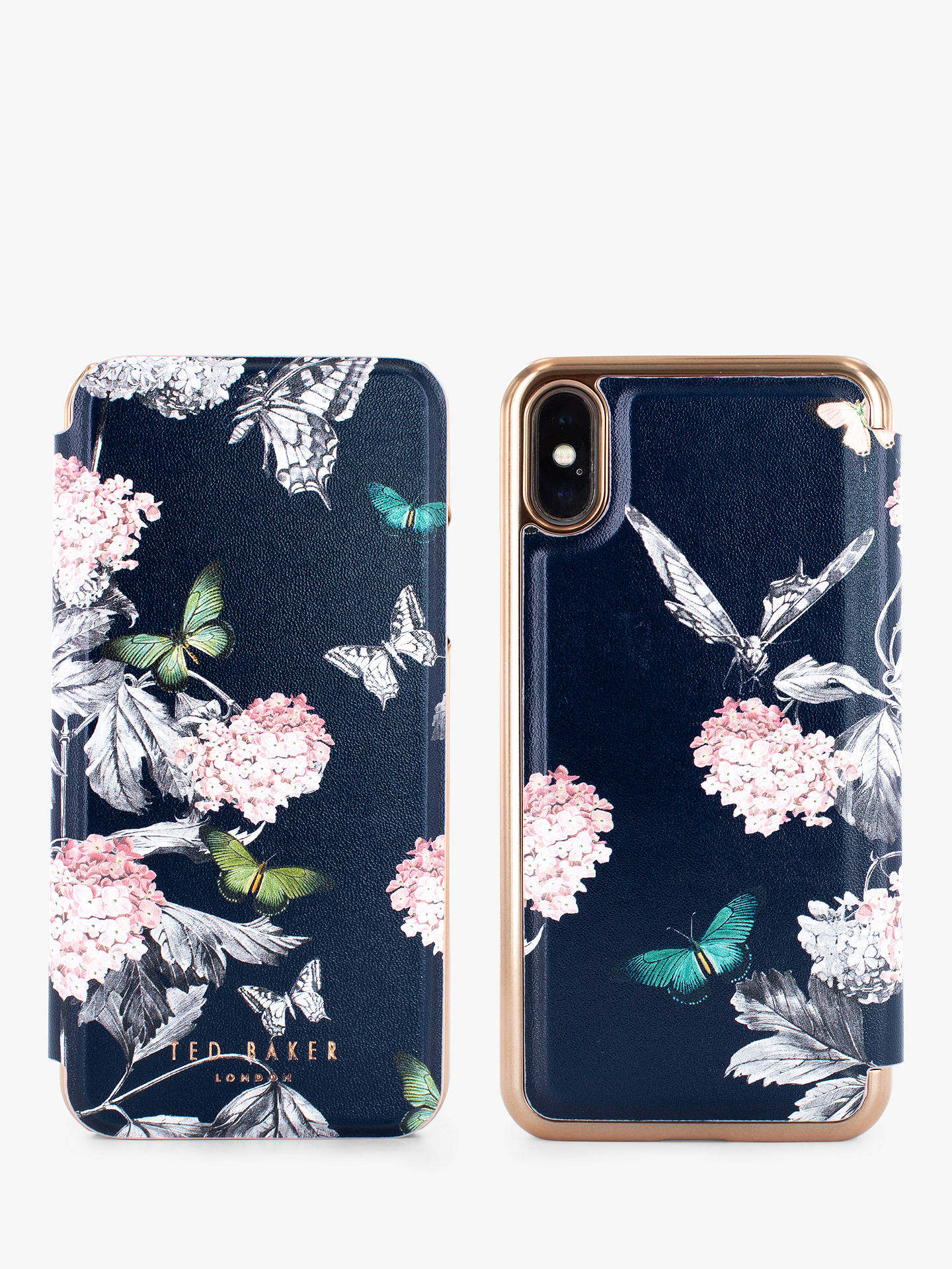 big sale 4f0e2 da8bd Ted Baker Moondance Folio Case for iPhone X