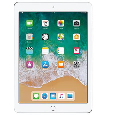 Image of 2018 Apple iPad 9.7, A10, iOS 11, Wi-Fi, 32GB, Silver
