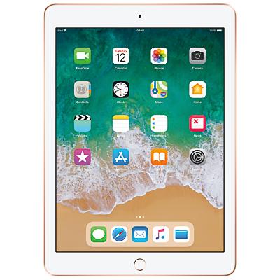 Image of 2018 Apple iPad 9.7, A10, iOS 11, Wi-Fi, 32GB, Gold