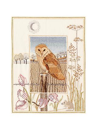 Derwent Wildlife Barn Owl Cross Stitch Kit