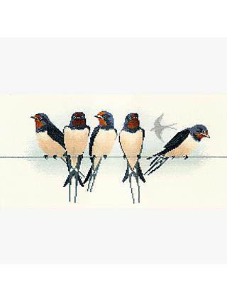 Derwent Birds Swallow Cross Stitch Kit