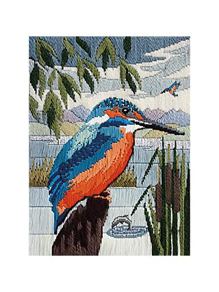 Derwent Kingfisher Silks Long Stitch Kit