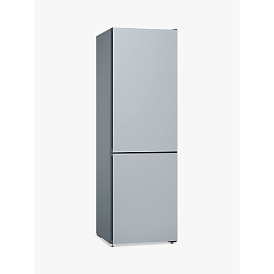 Bosch Serie 4 KGN36IJ3AG Freestanding Fridge Freezer, A++ Energy Rating, 60cm Wide, Grey