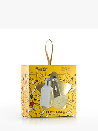 L'Occitane My Fresh Essentials Star Body Care Gift Set