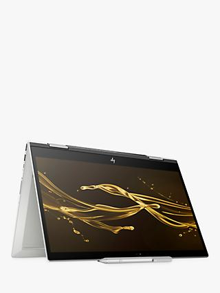 "HP ENVY x360 15-cn0000na Convertible Laptop, Intel Core i5, 8GB RAM, 256GB SSD, 15.6"", Full HD Touchscreen, Dark Ash Silver, with HP Tilt Pen Stylus"