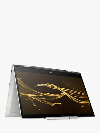 "HP ENVY x360 15-cn0008na Convertible Laptop, Intel Core i7, 16GB RAM, 256GB SSD, 15.6"", Full HD Touchscreen, Silver, with HP Tilt Pen Stylus"