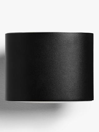 John Lewis & Partners Faro LED Outdoor Wall Light, Black
