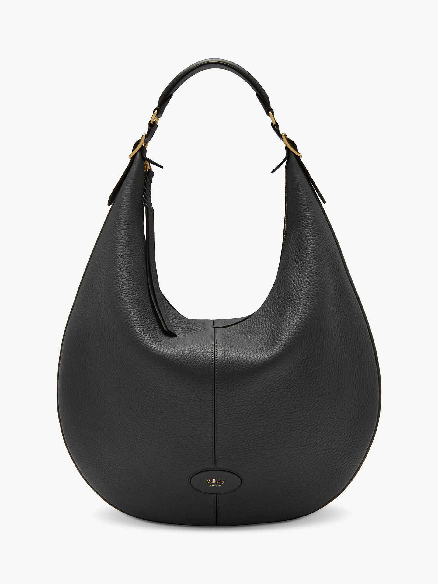 Mulberry Selby Large Classic Grain Leather Hobo Bag at John Lewis ... 8b747c98280a3