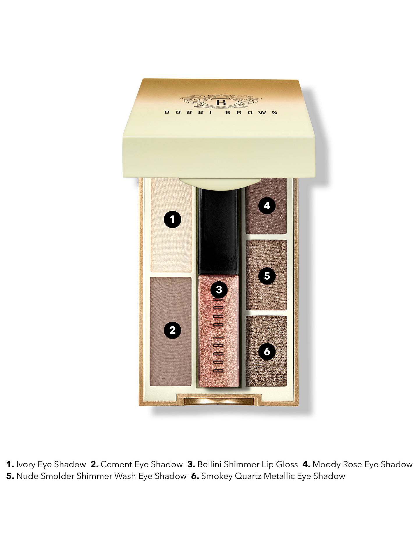 ac39aa8d763f ... Buy Bobbi Brown Pret A Party Mini Eye and Lip Palette Online at  johnlewis.com ...