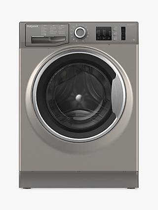 Hotpoint NM10844 Washing Machine, 8kg Load, A+++ Energy Rating, 1400rpm Spin
