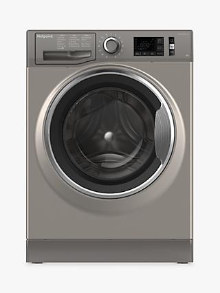 Hotpoint NM11946BCAUK Washing Machine, 9kg Load, A+++ Energy Rating, 1400rpm Spin, Black