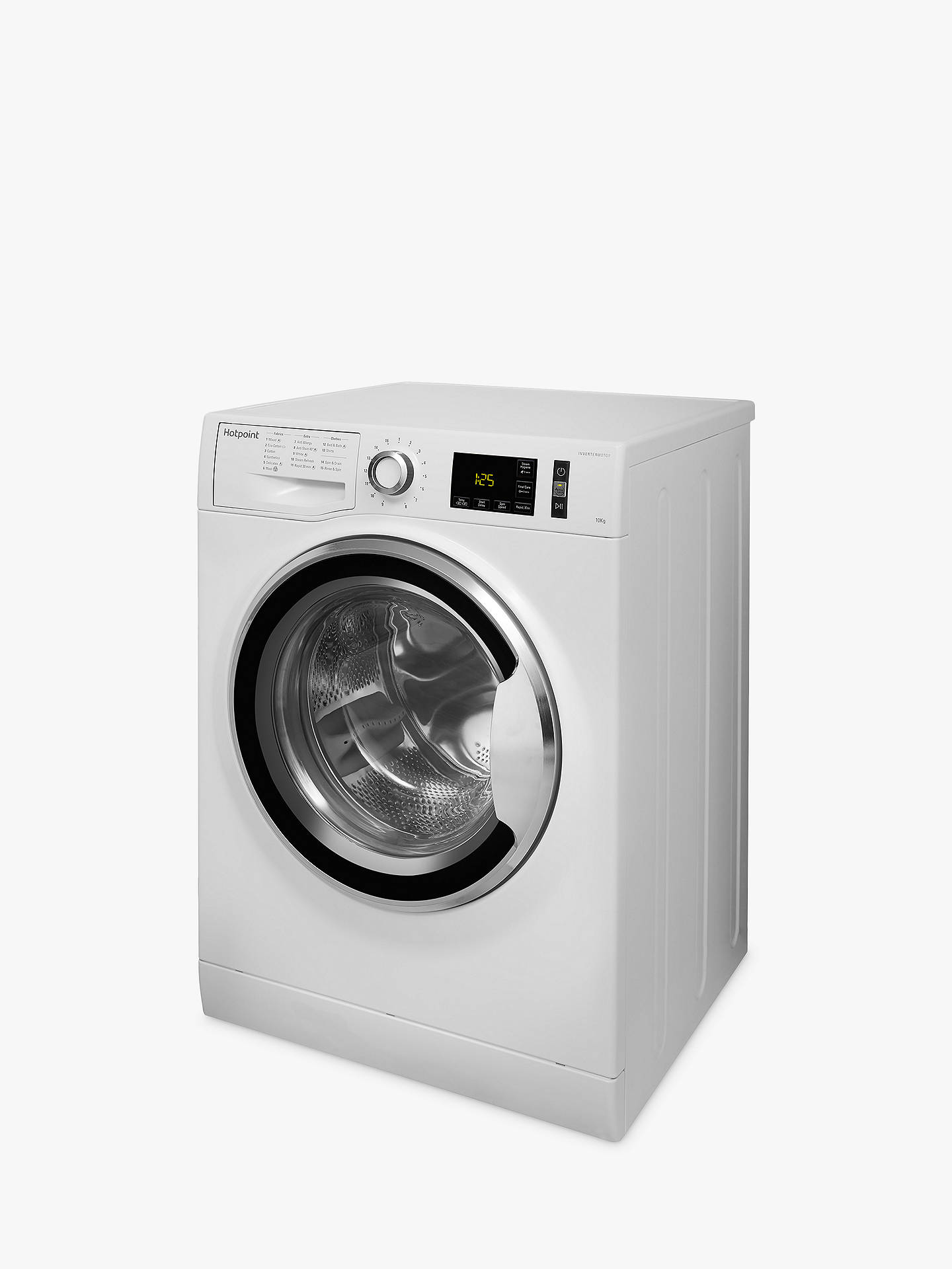 ... Buy Hotpoint NM111045WCAUK Washing Machine, 10kg Load, 1400rpm, A+++ Energy, White Online ...