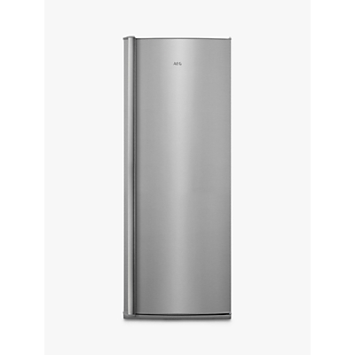 AEG RKB63221DX Freestanding Fridge, A++ Energy Rating, 59.5cm Wide, Stainless Steel
