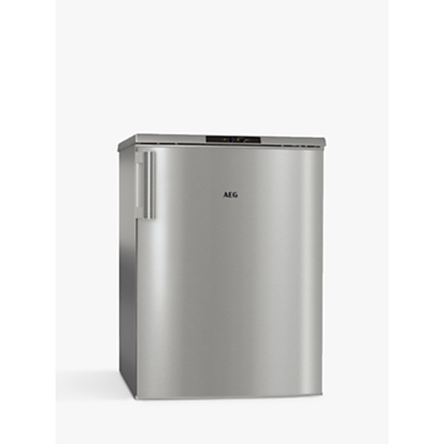 AEG ATB8112VAX Freestanding Freezer, A++ Energy Rating, 59cm Wide, Silver