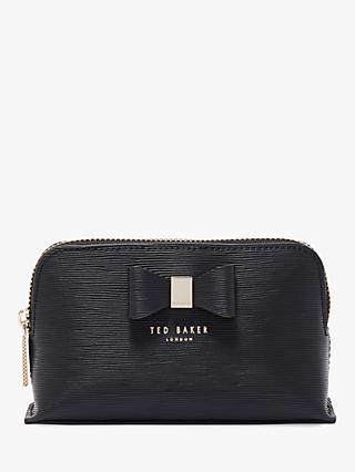 Ted Baker Chlolou Leather Bow Makeup Bag