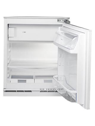 Hotpoint HFA1UK.1 Integrated Undercounter Fridge with Ice Box, A+ Energy Rating, Neutral
