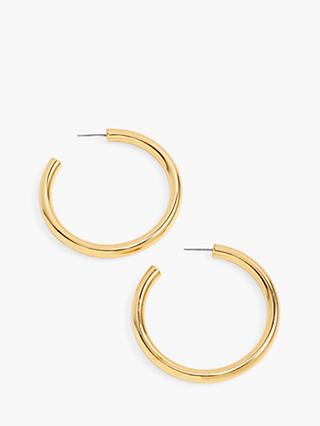 J Crew Hoop Earrings Gold