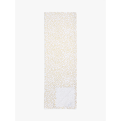 House by John Lewis Spot Pattern Table Runner, Gold, L250cm