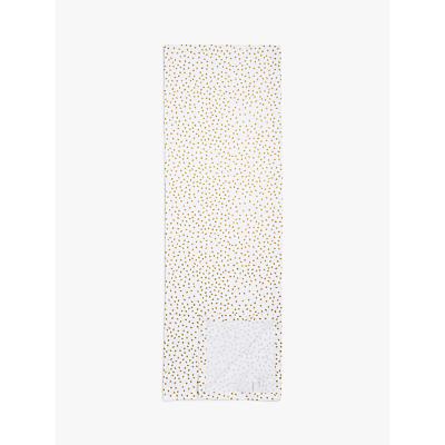House by John Lewis Spot Pattern Table Runner, Gold, L250cm