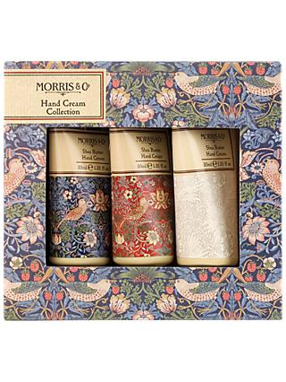 Morris & Co. Strawberry Thief Hand Cream Collection