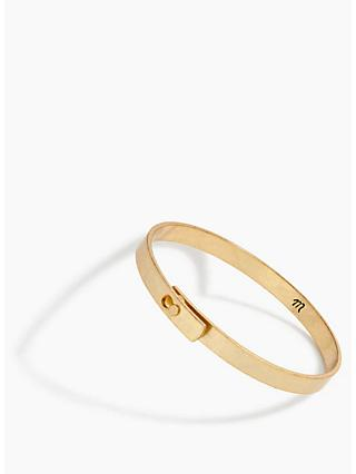 Madewell Glider Bangle, Gold