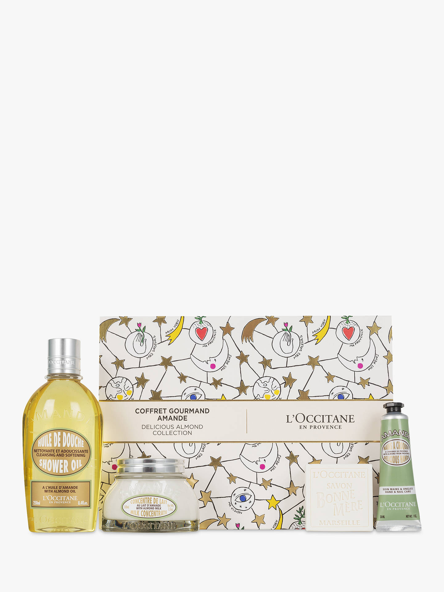 BuyLOccitane Delicious Almond Collection Body Care Gift Set Online At Johnlewis
