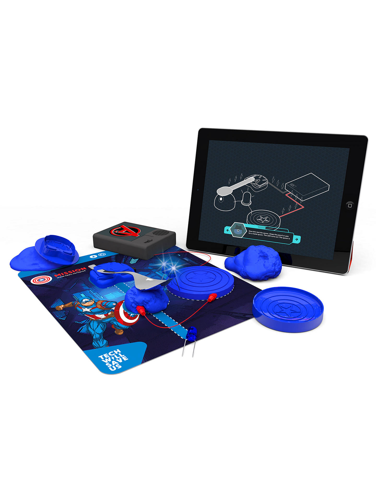 BuyTech Will Save Us Marvel Avengers Electro Hero Kit Online at johnlewis.com