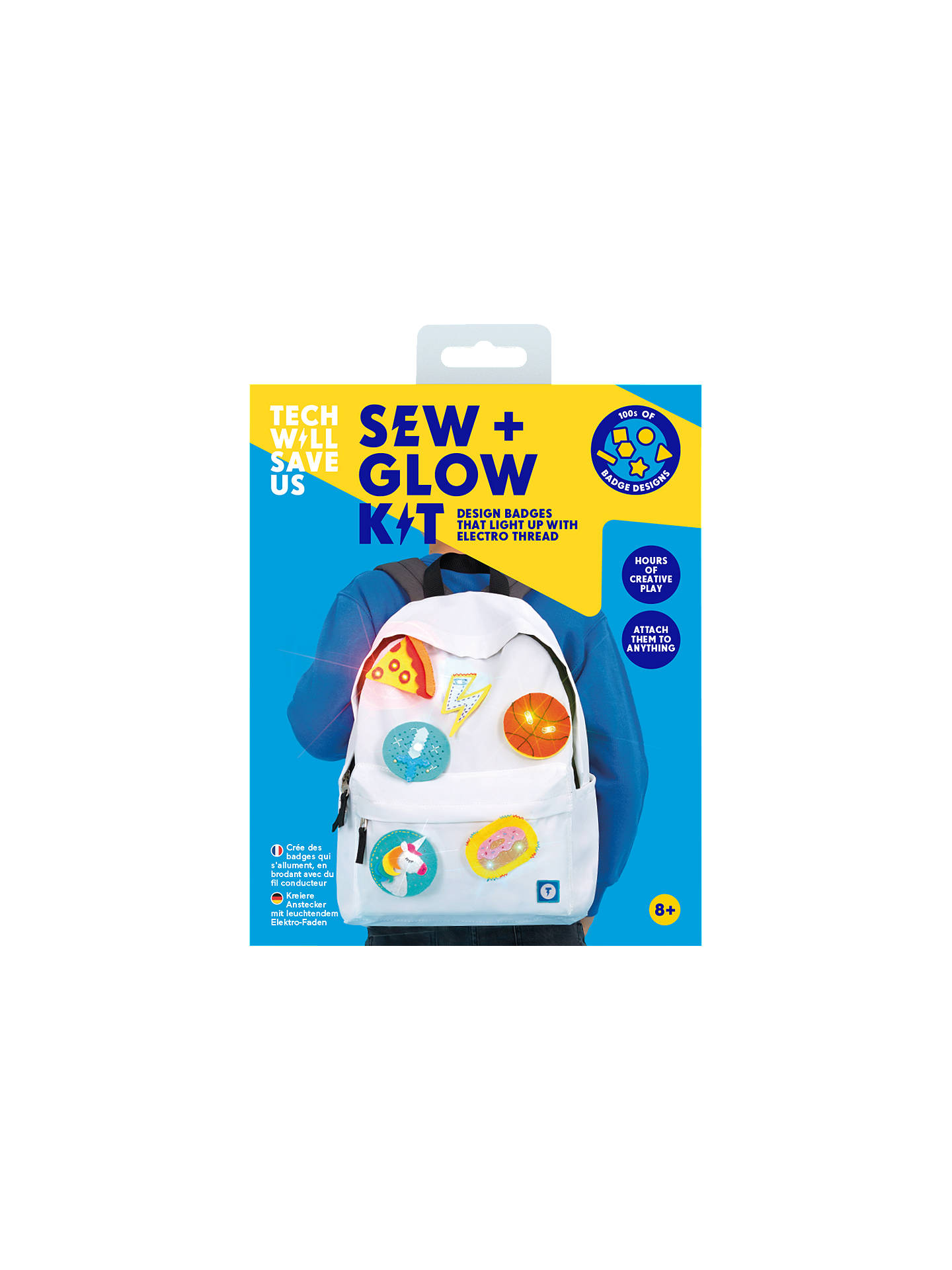 Buy Tech Will Save Us Sew and Glow Kit Online at johnlewis.com