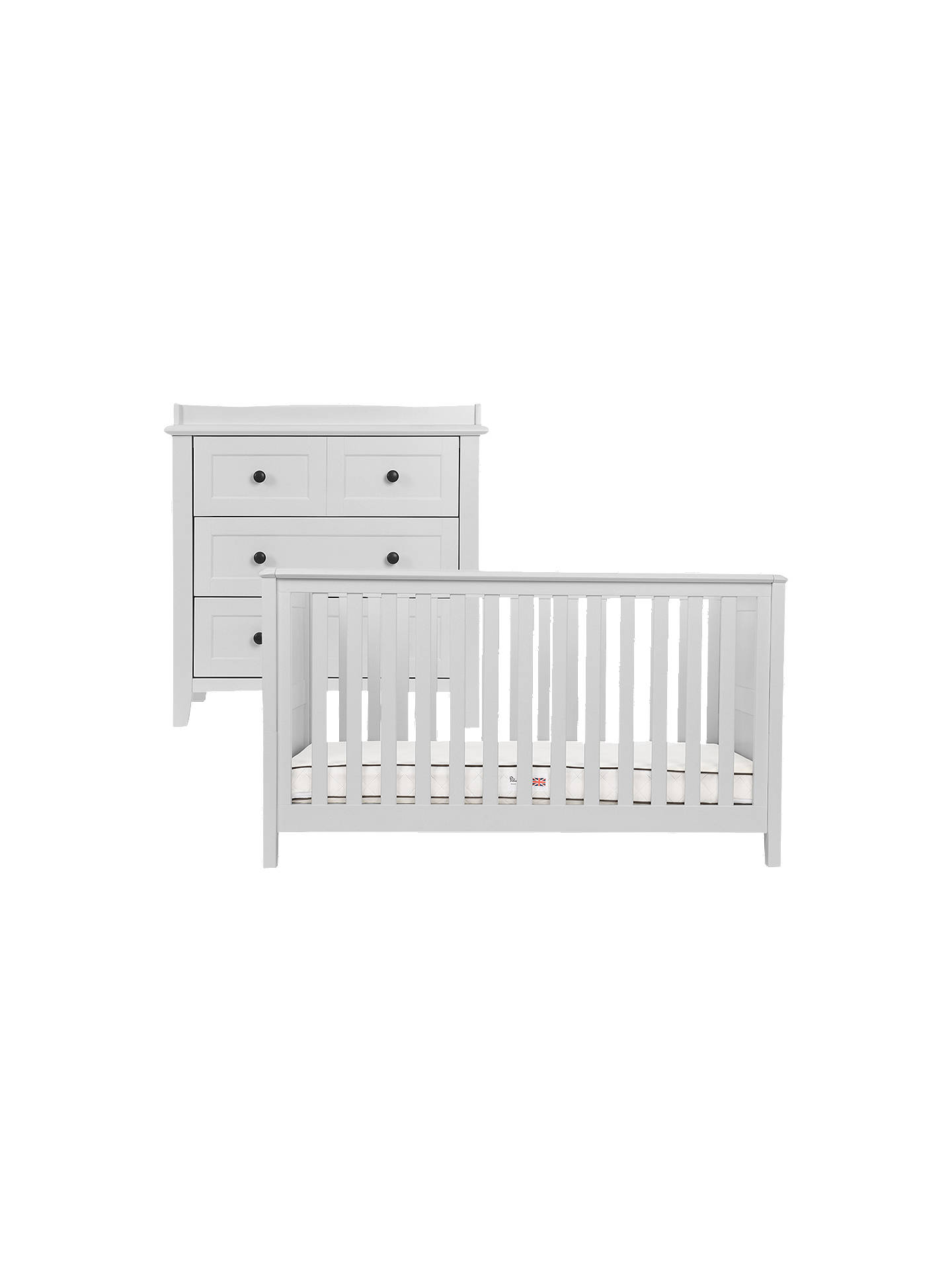Buy Silver Cross Nostalgia Cotbed and Dress, Dove Grey Online at johnlewis.com