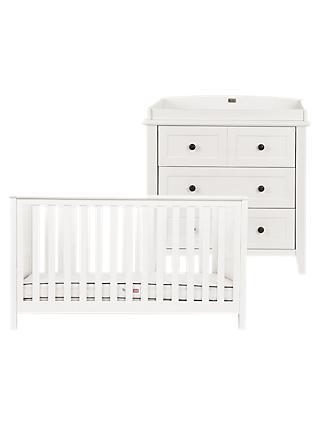 Silver Cross Nostalgia Cotbed and Dresser, Ivory